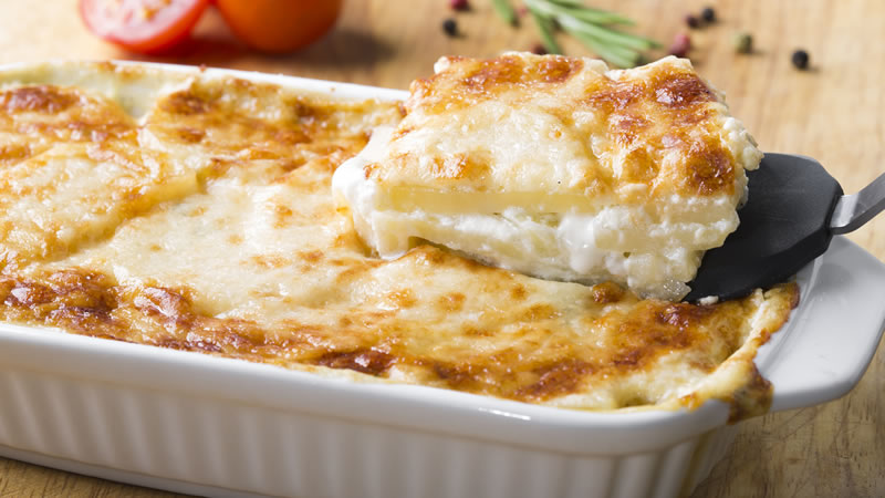 Cheese and Potato Pie