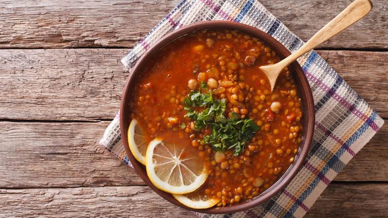 Chickpea Soup Moroccan Style