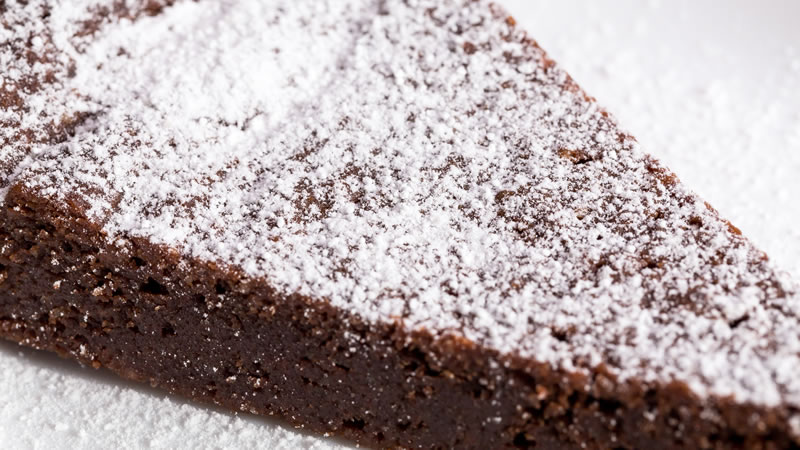 Flourless Chocolate and Earl Grey Torte