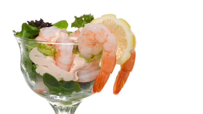 Prawn Cocktail with a kick