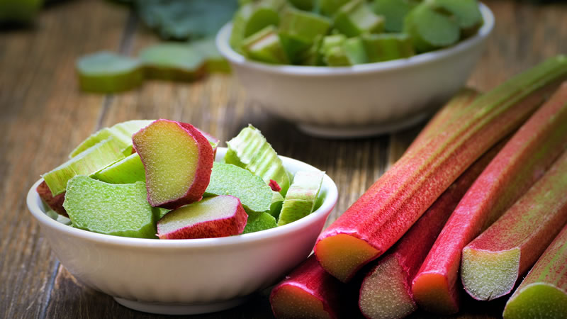 Roasted Rhubarb with Ginger