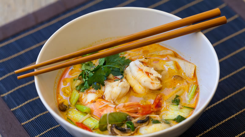 Aromatic Prawn Soup