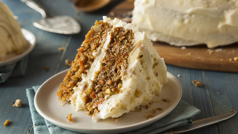 Frosted Carrot and Orange Cake