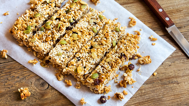 Fruit and Mixed Seed Flapjacks
