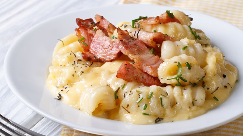 Gnocchi with Bacon and Cheese