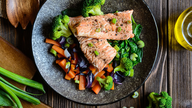 Salmon One Pot