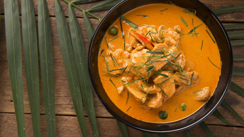 Thai Pork Curry with a Peanut Sauce