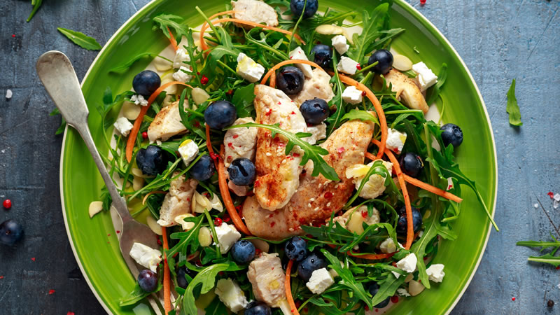 Mediterranean Chicken With Garlic Tarragon and Olives